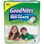 Free GoodNites Bed Mats at Walmart