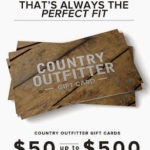 Country Outfitter Giveaway