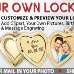 Sterling Silver Photo Heart Locket Giveaway