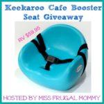 Keekaroo Cafe Booster Seat Giveaway