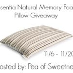 Essentia Pillow Giveaway