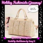 Holiday Fashionista Giveaway