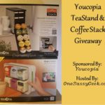 Youcopia TeaStand Organizer & CoffeeStack K-Cup Organizer Giveaway