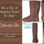 Heavely Soles Sheepskin Boots Giveaway
