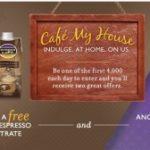 Free Oregon Cafe Espresso Latte Concentrate
