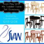 Svan Play With me Table Set Giveaway