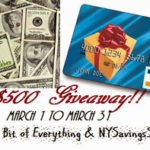$500 Giveaway-Blogger Opp.