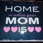 Home Is Where Your Mom is Plaque