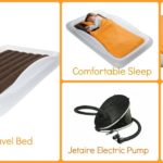 Toddler Travel Bed with Electric Pump Giveaway