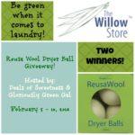 Reusa Wool Dryer Balls Giveaway
