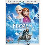 Free Disney's Frozen on Blu-Ray DVD