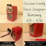 Pencil Sharpener Giveaway