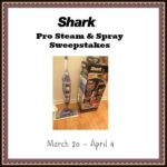 Shark Pro Steam & Spray Giveaway