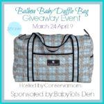 Balboa Baby Duffle Bag Giveaway