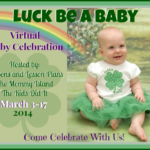 Luck Be A Baby- Pot-O-Gold Giveaway
