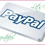 $25 Paypal Giveaway