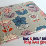 Rag & Bone Bindery Baby Book Giveaway