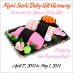 Nigiri Sushi Baby Gift Giveaway
