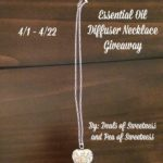Diffuser Necklace Giveaway