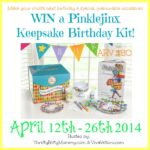 Pinklejinx Birthday Keepsake Kit Giveaway