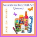 AVON Natural Kids Rio2 Bath Set Giveaway