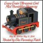 Crane Train Ultrasonic Cool Mist Humidifier Giveaway