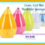 Crane Cool Mist Giveaway