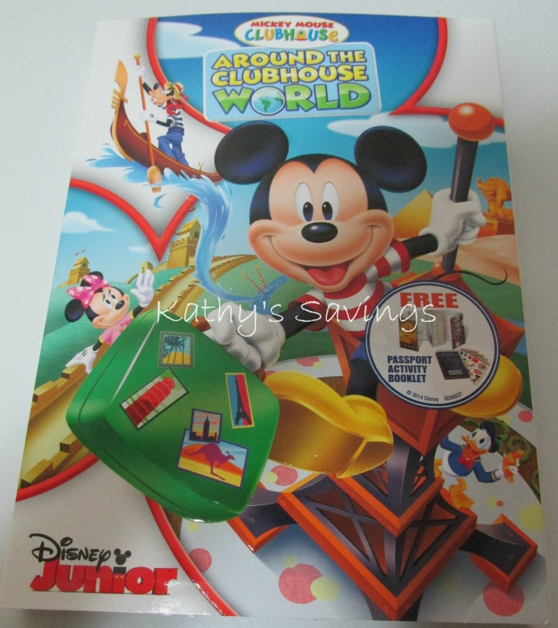 Mickey Mouse ClubHouse Around The ClubHouse World DVD ...