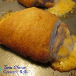 Tuna Cheese Crescent Rolls