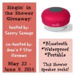 Shower Speaker Giveaway