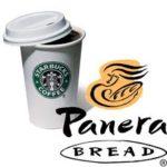 Free $5 Panera Bread or Starbucks Gift Card