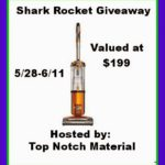Shark Rocket Giveaway