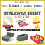 Diono & Little Tikes Travel Accessories Giveaway