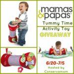 Mamas & Papas Tummy Time Giveaway