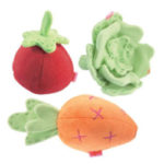 Free HABA Plush Baby Vegetable Set
