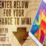 Win a Galaxy Tab 4 7.0