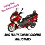 MS TBX EFI Touring Scooter Blogger Opp!
