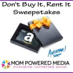 Don't Buy It, Rent It Sweepstakes
