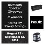 Havit Bluetooth Speaker Giveaway