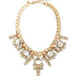 Free Sequin gold plate necklace