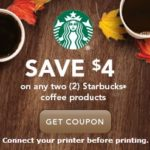 Starbucks-2 Free Iced Coffee Drinks With Coupon