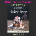 Dairy-Free Ice Cream Cookbook Giveaway