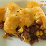 Sloppy Joe Tater Tot Casserole