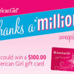 American Girl Thanks a Million Sweepstakes