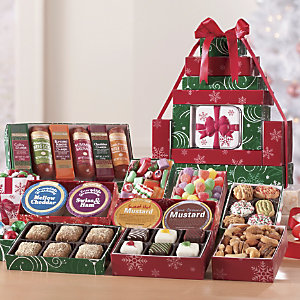 Swisscolony Postpaidchristmasfoodgifttower Review Holidaygiftguide