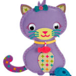 PomTree Felt Kitty & Mouse Pillow Puff Kit Review