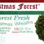 Christmas Forest Fresh Wreaths  #HolidayGiftGuide100Bloggers