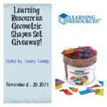 Learning Resources Geometric Shape Giveaway