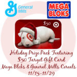 Holiday Prize Pack w/ $50 Target GC Mega Bloks and General Mills Cereals
