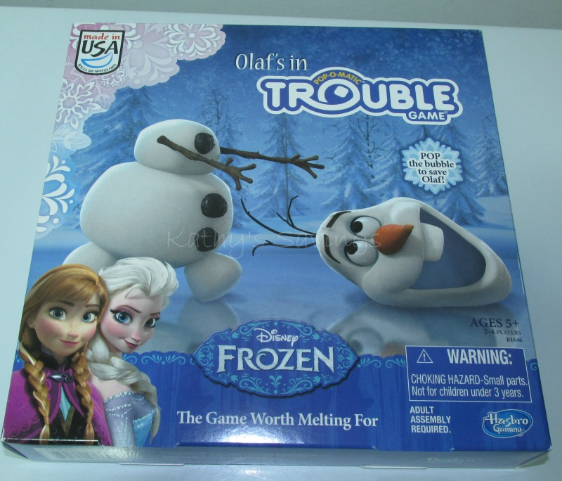 #HasbroGaming #Hasbro #OlafsinTrouble #Frozen #game